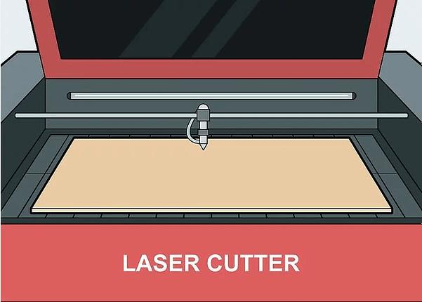 Использование лазерного станка