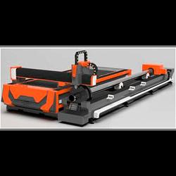 Комбинированный, автоматизированный комплекс лазерной резки листового металла и труб TIZAR CR3015, CI3015